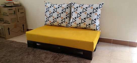 2 seater pallet seat/ pallet sofa/pallet furniture/ image 1
