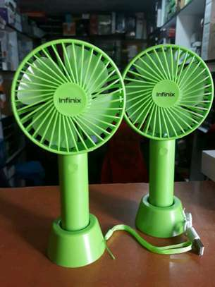 Handheld Fan, Portable Rechargeable image 1