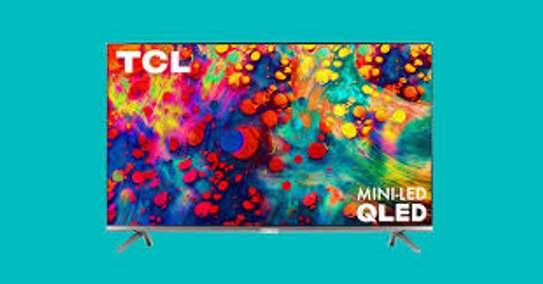 TCL 55 inch Q-LED 55C725 Android Smart UHD-4K Digital Frameless Tvs image 1