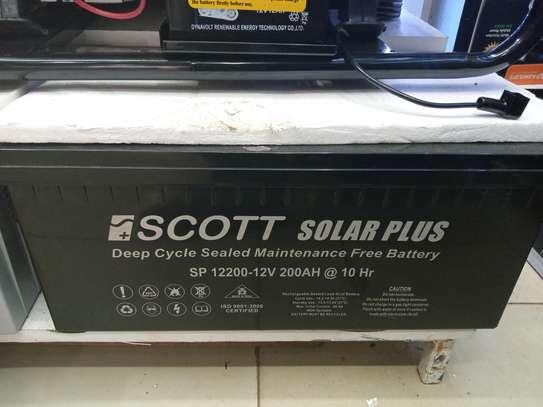 200AH SOLAR BATTERY image 4