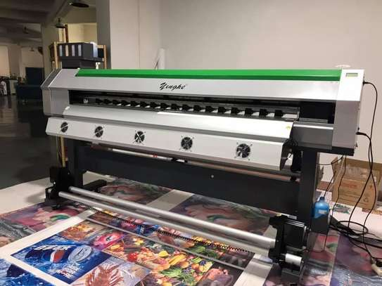 XP600 / DX5 ECO SOLVENT YINGHE LARGE FORMAT PRINTER NEW FOR SALE image 1