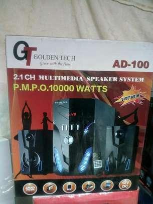 Golden Tech AD-100 2.1CH Multimedia Speaker System image 3