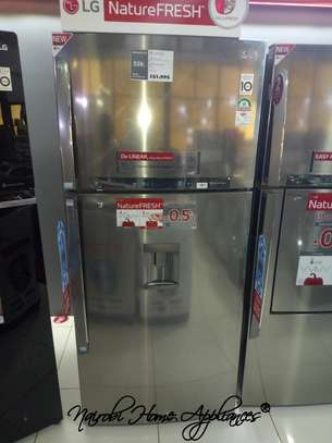 LG 530L Double Door No Frost Fridge image 1