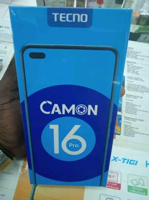 Tecno Camon 16 pro(shop)128gb 6gb ram 5000mAh battery 64mp camera image 1