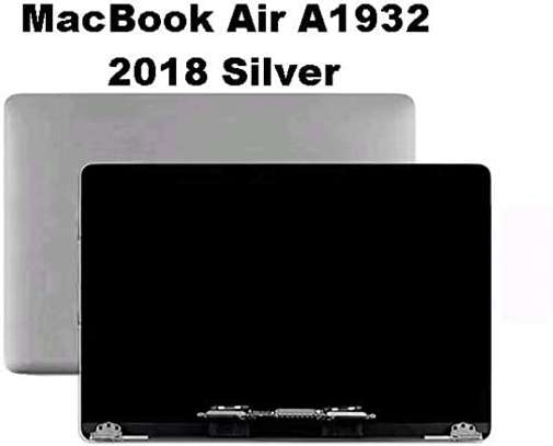 """Replacement Screen for MacBook Air 13"""" A1932 Late 2018 Silver Full LCD Screen Assembly image 1"""