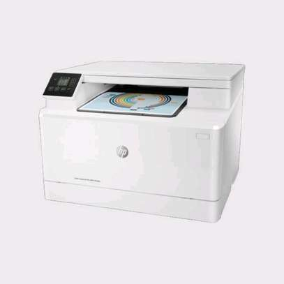 HP Laserjet M181fw Colored Printers 3 in 1 With Fax, Wireless & adf image 1