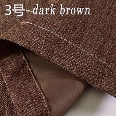 Linen Brown Curtains image 3