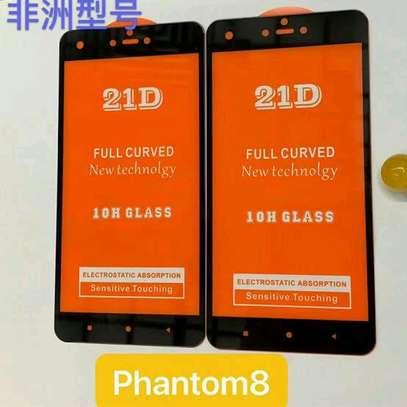 Tecno phantom 8 Full HD Tempered Glass Protector image 1