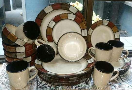 24 piece ceramic Dinner image 1