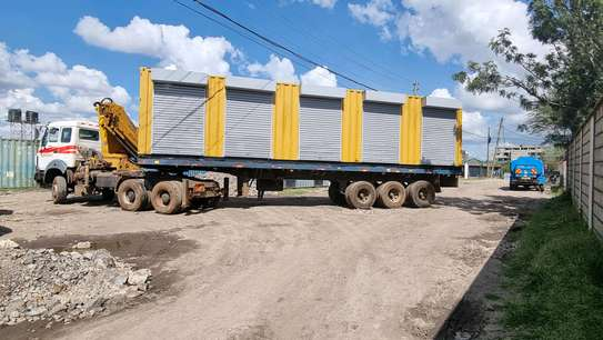 40ft container stalls image 1