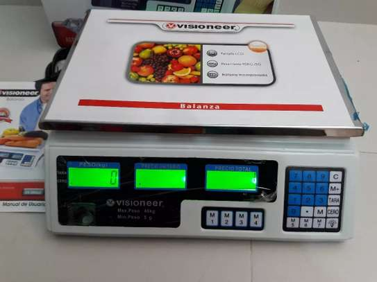 Digital Kitchen weighing  Scale 30 kg - White image 1