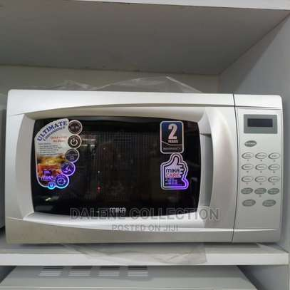 Mika Microwave Oven, 20L, Digital Control Panel, Silver image 1