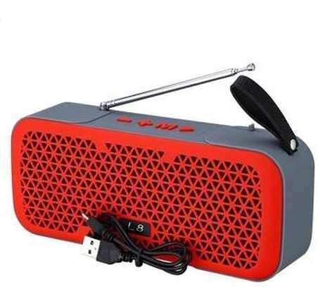 Caston L8 wireless mini Bluetooth speaker with FM image 4