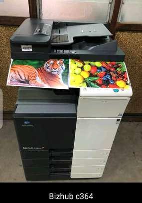 Advanced Konica Minolta bizhub C364 photocopier machine image 1