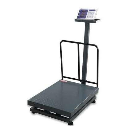 Digital Floor Scale 500kg Capacity weight weighing. image 1
