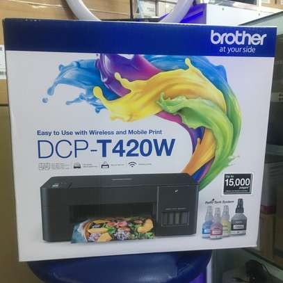 Brother DCP T420W wireless all in one printer image 2