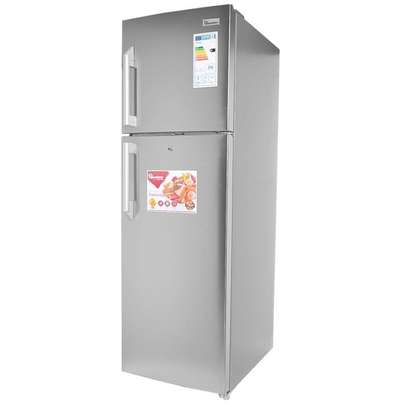 RAMTONS / 344 LITRES / DOUBLE DOOR / NO FROST FRIDGE / SILVER - RF/293