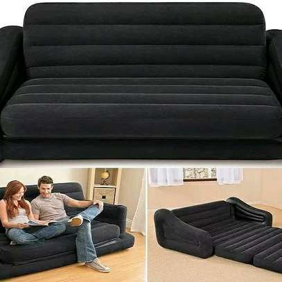 3 Seater Inflatable Sofa Bed Pull-out image 1