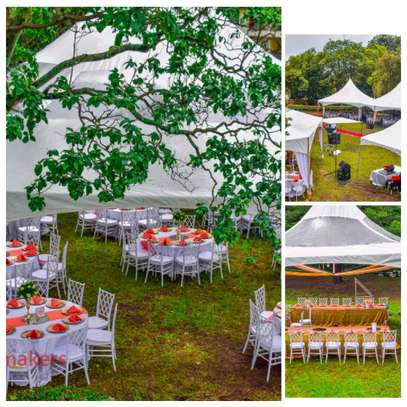 Clean Hexagon tent for hire image 1