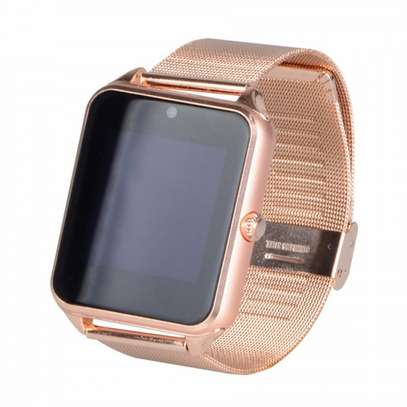 Bluetooth/Simcard Smartwatch with Stainless steel band. image 3