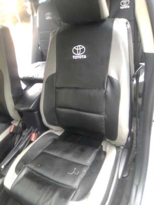 BEST QUALITY TOYOTA CAR SEAT COVERS image 3