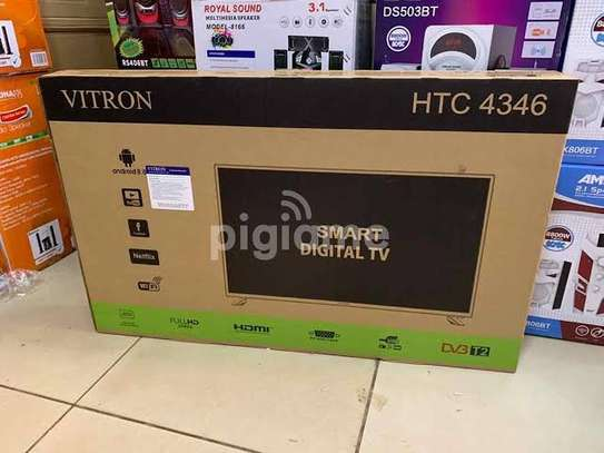 Vitron 43 inches Smart Android TV image 1