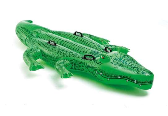 Giant Gator Ride-on Swimming Floater image 2