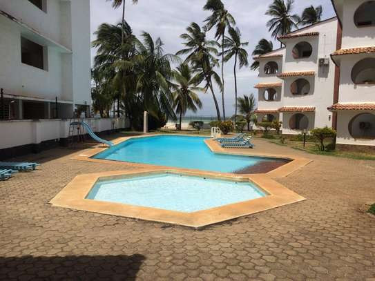 2br beachfront furnished apartment for rent in Bamburi beach-Bamburi Beach Villas Apartments image 1