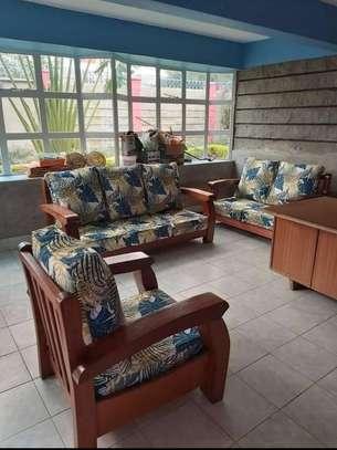 Open sofas(Solid mahogany) image 1