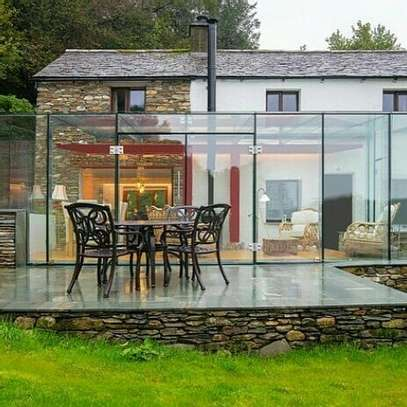 Architectural interior glass-works image 1