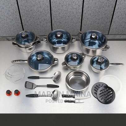 30 Pcs Marwa Cookware Set image 1
