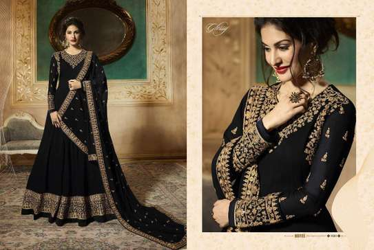 We Are Launching Designer Gown Glossy Simar Amyra image 1