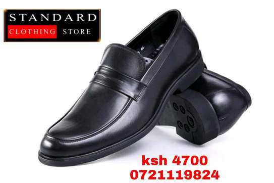 Men's Official Italian Leather Shoes with rubber sole image 28