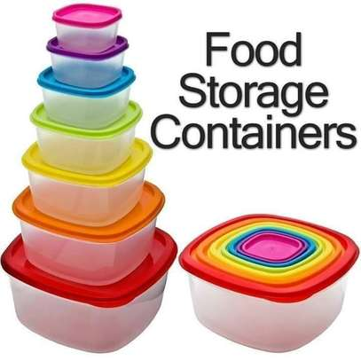 7Pcs Storage Containers