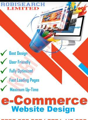 Ecommerce web design for business image 1