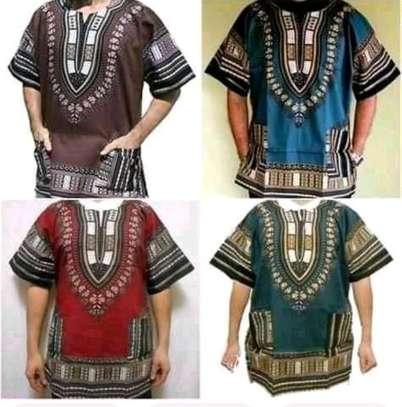 Unisex dashiki shirts image 2
