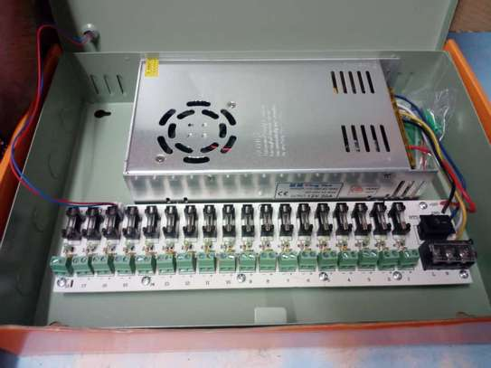 30Amps 12V CCTV Power Supply image 2
