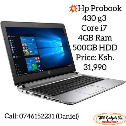 HP ProBook 430 G3, intel Core i7-6500U Processor, 4 GB RAM, 500GB HDD, 13.3 inches image 1