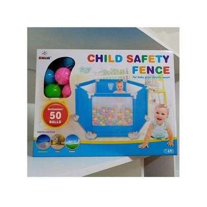Child Safety Fence / Play Net-Soft & Comfortable Play Fence image 1