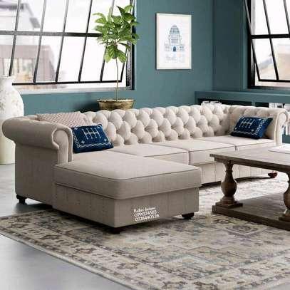 Beige sofas/five seater sofas/modern sofas image 1