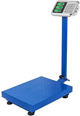 Bench Scale for Warehouse Industrial Shipping Scale and, Lb/Kg Switchable, 150 kg Capacity, image 1