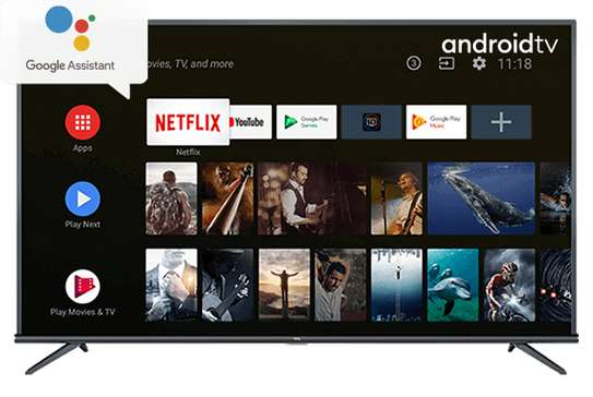 55 inch TCL Android smart TV image 1