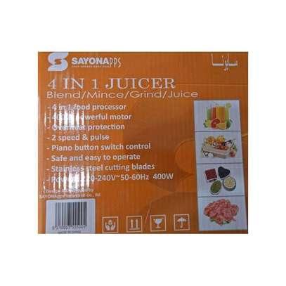 Sayona 4in1 Juicer/Blender/Mincer/Grinder image 4