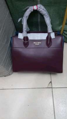 Malinda Paris genuine leather handbag set, image 3