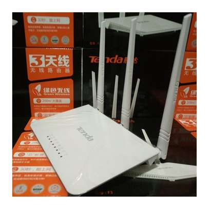 tenda F3 300Mbps Wireless WiFi Router , Support 802.11 image 1