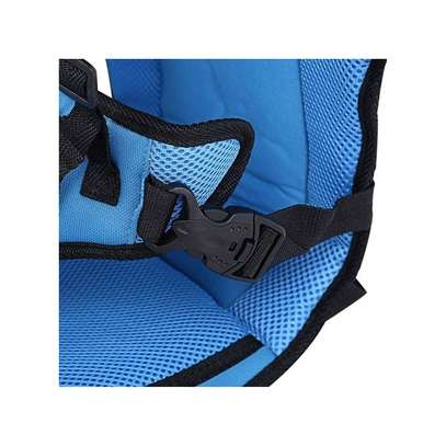 Blue Breathable Thick Car seat Cushion image 3
