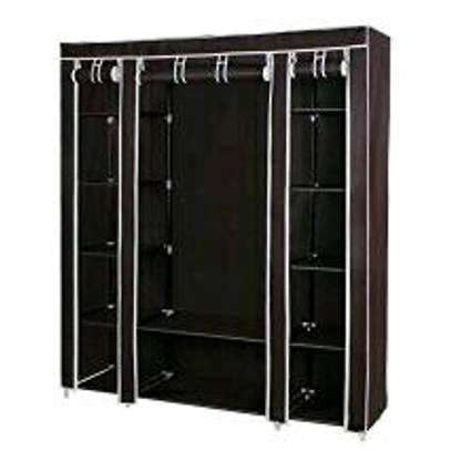 Portable wooden wardrobes image 4