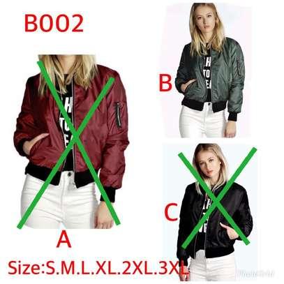Ladies bomber jackets image 1