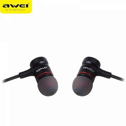 Awei ES70TY In-ear Earphone Metal Heavy Bass Sound Headset With MIC image 3