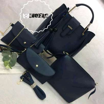 4 in 1 Leather Handbags